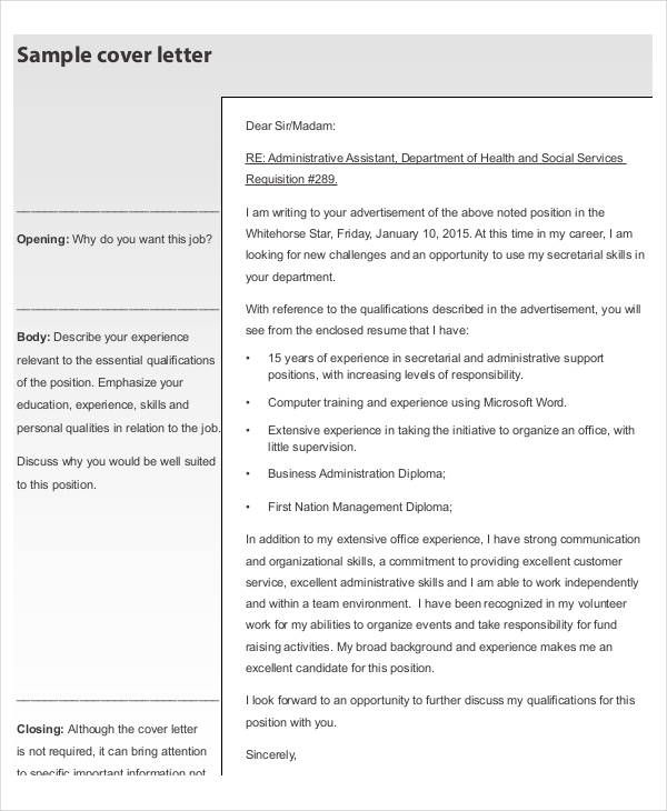 Simple Resume Cover Letter Template | Resume Template And
