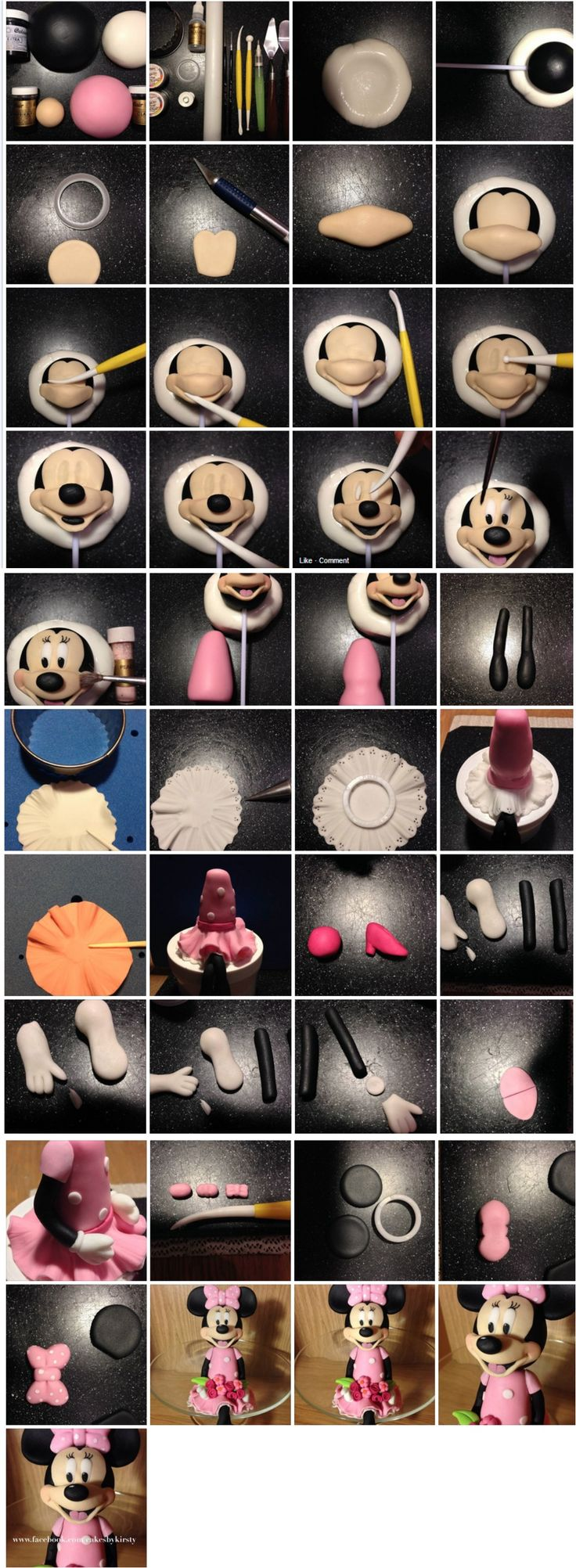 Minnie Mouse Topper Tutorial