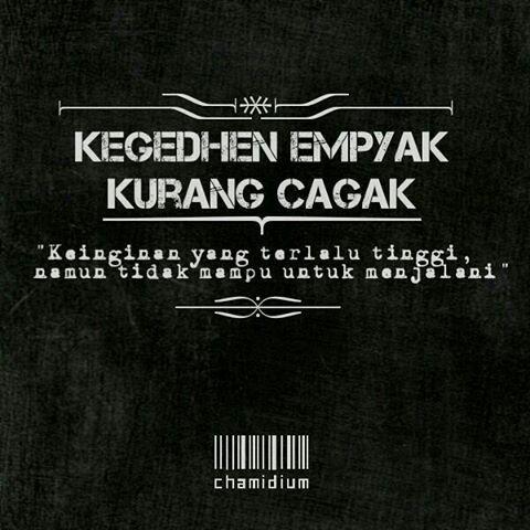 Pepatah Jawa, Indonesia