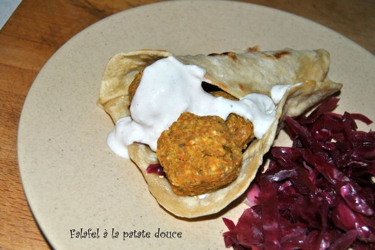 falafel à la patate douce