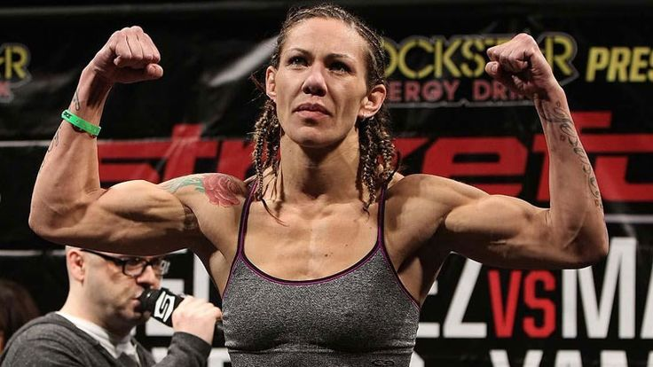 """Cris """"Cyborg"""" Justino may have been higher on our list if she was not involved a doping scandal. The truth is, she can fight, but at the 145 weight class, she has a tough time trying to find opponents. This could be why she was trying to cut her weight."""
