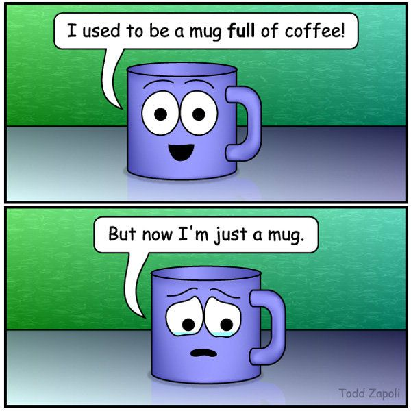 Inanimate Objects Comics 63 With Images Coffee Cartoon
