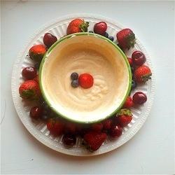 Healthy Dessert Fruit Dip
