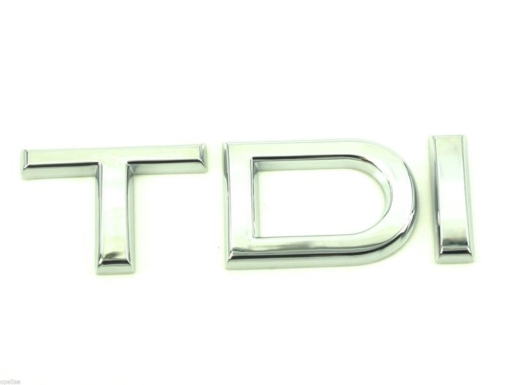 #Genuine new audi tdi boot #badge emblem for a8 #2002-10 2010+ 3.0 4.2 quattro s8,  View more on the LINK: 	http://www.zeppy.io/product/gb/2/301285581405/
