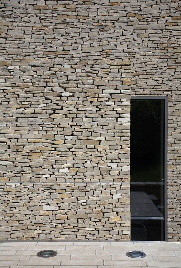 wickstead lodge by baynes co stone wallsbrick wallsinterior - Interior Stone Wall Designs