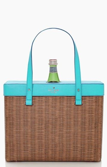 pack a picnic wine tote // kate spade