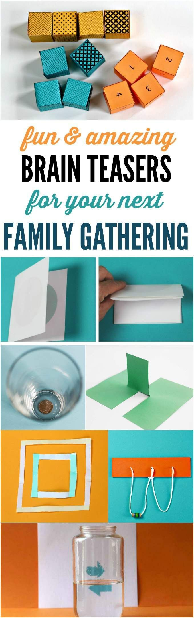 Fun and Amazing Brain Teasers for Family Gatherings