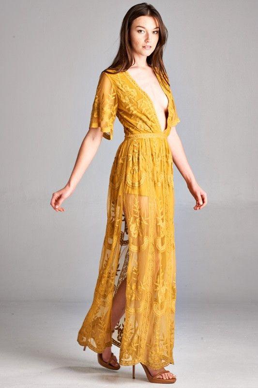 Light Mauve Lace Maxi Dress Lace Maxi Lace Maxi Romper