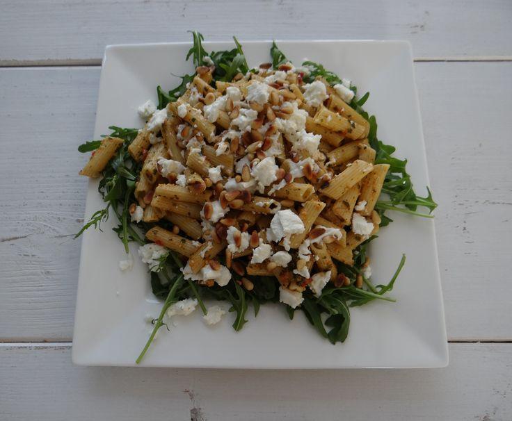 Heerlijk en gemakkelijk pasta recept. Ideale bodem voor hardlopers.