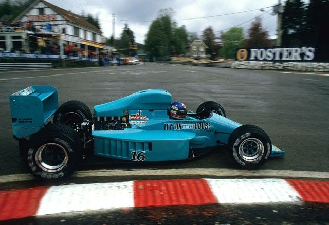 #IvanCapelli Leyton House March 871 - Ford #BelgianGP 1987 ...