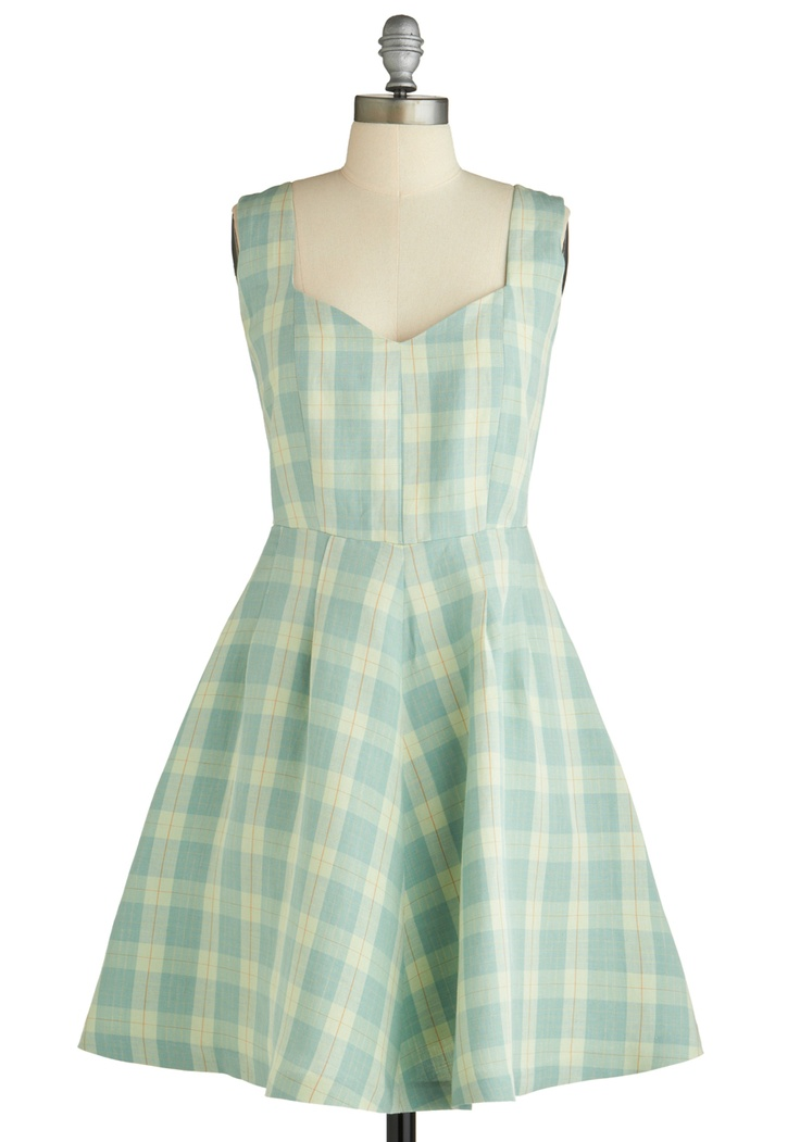 Gingham dress to match the Dorothy shoes!