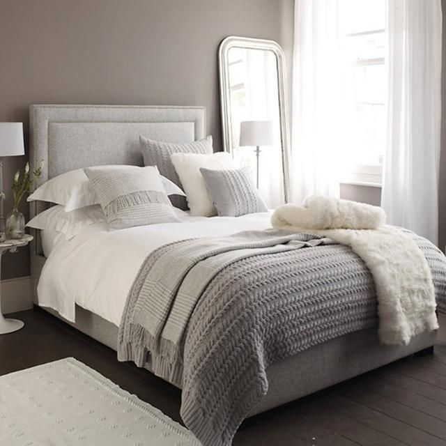 Mantas de punto en el dormitorio - Knit blankets in the bedroom_03