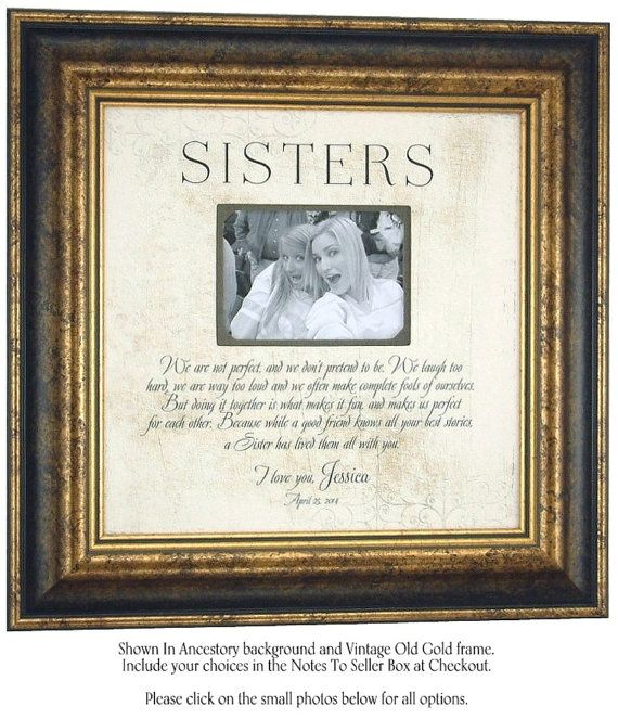 Best Gift For Sister Wedding: 1000+ Ideas About Sister Wedding Gifts On Pinterest
