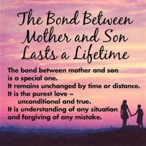 I just LOVE being a mum , to my 2 great sons. I am a very lucky mum