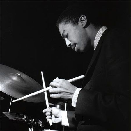 """didierleclair: """"THE KEEPER OF JAZZ TIME…Tony Williams, jazz masterSource of pic: pinterest.com """""""