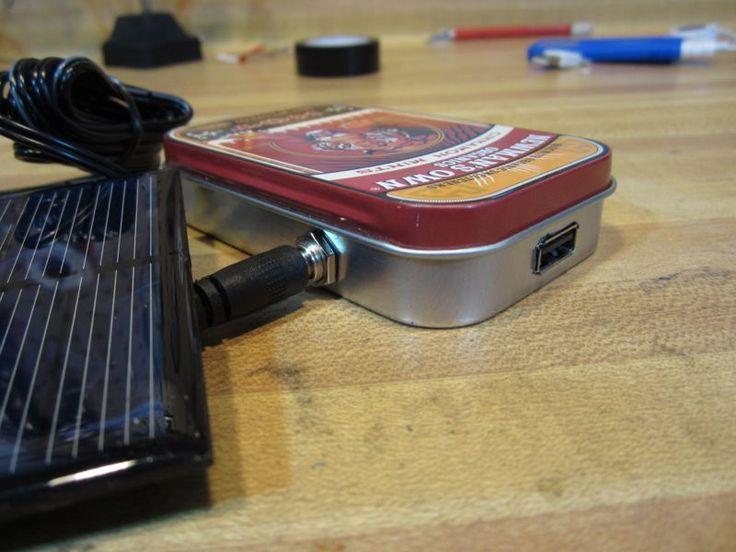 Cargador+solar+USB