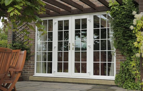 59 best garage conversions images on pinterest converted for Conservatory doors exterior