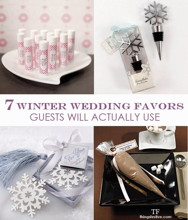 Wedding Gifts For Couples Over 50 : winter wedding couples get 50 % off favors decor winter wedding favors ...