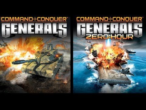 Command and Conquer Generals + Zero Hour Full free Version Windows