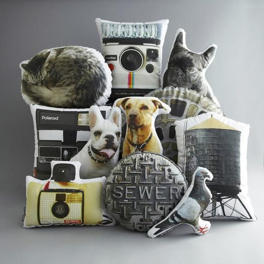 Custom Printed Pet Photo Pillow by intheseam | Hatch.co