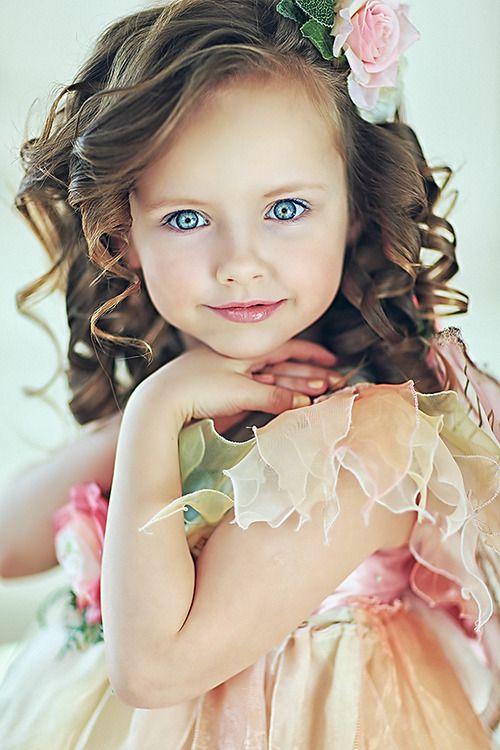 Stunning little girl!