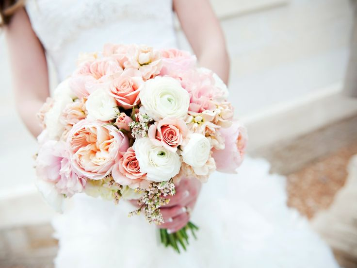 blush garden rose wedding bouquet provo utah wedding florist calie rose - Blush Garden Rose Bouquet
