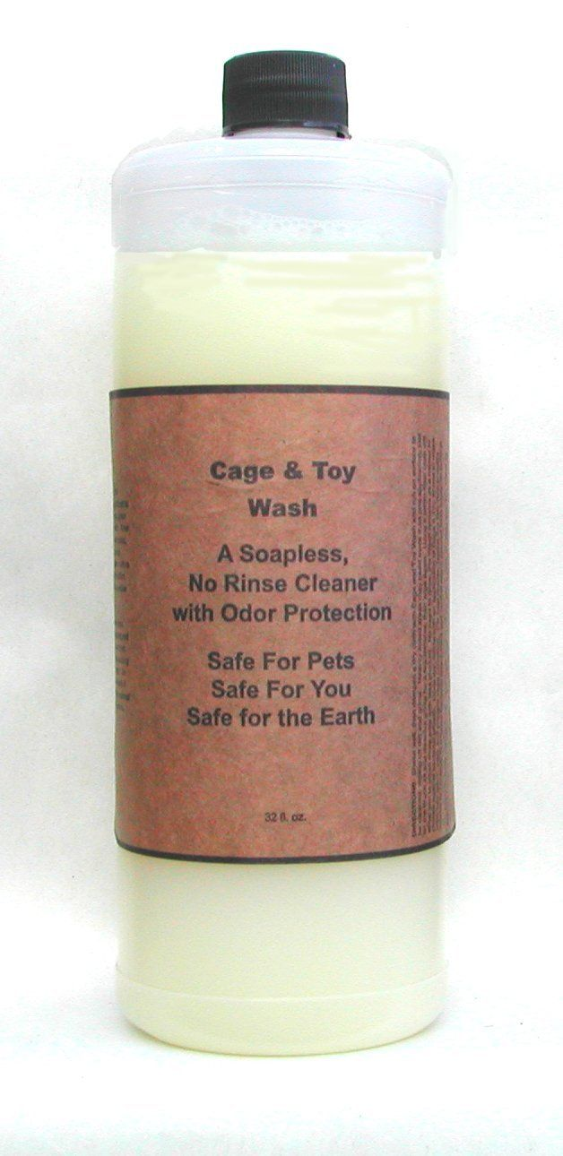 Natural Urine Spot and Habitat Cleaner with Odor Prevention: Cage and Toy Wash for Dogs, Cats and Small Animals, 32 oz. *** Learn more by visiting the image link. (This is an affiliate link and I receive a commission for the sales)