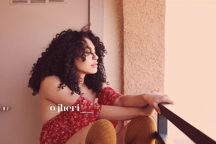 This photo is actually of me ft my curls:) Instagram: @jheri__