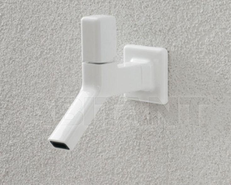 Смеситель для раковины белый Zucchetti Kos ZFA125.W , каталог сантехники для ванной: фото, заказ на ABITANT , Москва