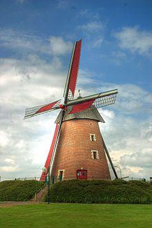 Molino de viento de Achicourt, Francia.
