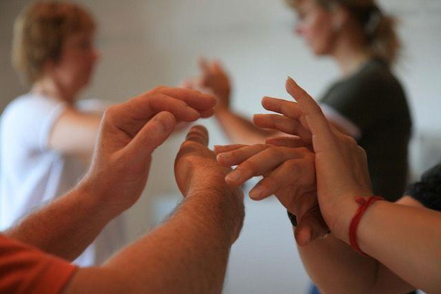Definition Push Hands / Pushing Hands / Tui Shou / 推手