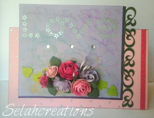 Love.. with Selahcreation flowers