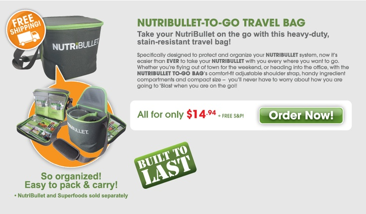 NutriBullet - Accessories  carry bag