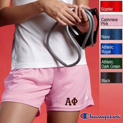 Alpha Phi Sorority Champion Mesh Shorts $21.95Alpha Epsilon Phi, Theta Phi Alpha, 2195, Alpha Phi, Sorority Champion, Mesh Shorts, Phi Clothing, Champion Mesh, Shorts 21 95