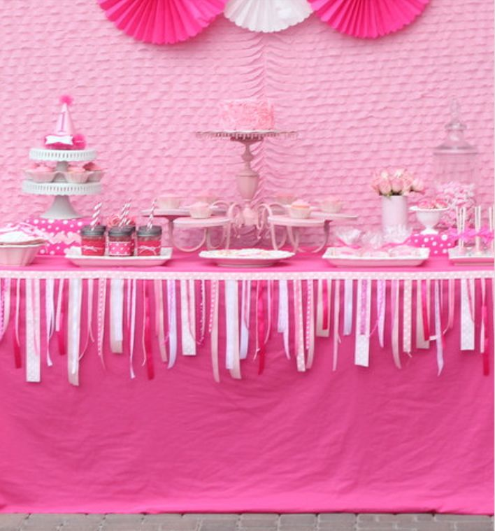 Pink party for girls — 9