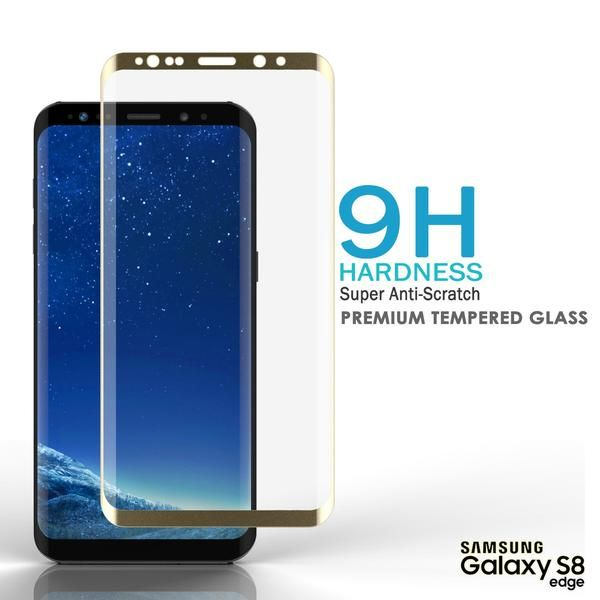 Galaxy Note 8 Gold Screen Protector, Punkcase Glass SHIELD Samsung Galaxy Note 8 Tempered Glass Screen Protector 0.33mm Thick 9H Glass      Punkcase Glass SHIELD is build with the highest quality tempered glass to obtain the best HD clear visibility. Punkcase Glass SHIELD covers the whole screen unlike other screen protectors from competitors. It also has 2.5D rounded edges, 0.33mm thick and has 9H hardness for superior protection.