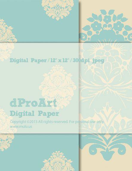 Baroque 08 Digital Paper by dProArt at mulu.us