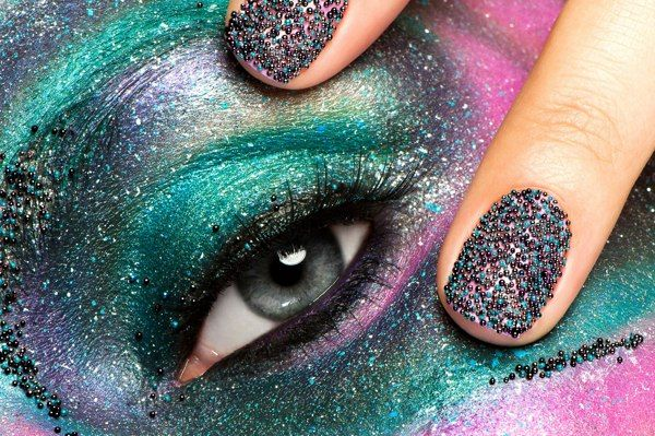Nail Constellations: Make-Up Academy by Karla Powell, via Behance