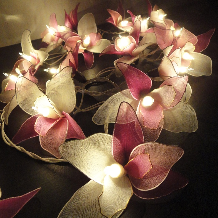 1000+ images about Pink Parties on Pinterest Orchid flowers, Purple orchids and String lights