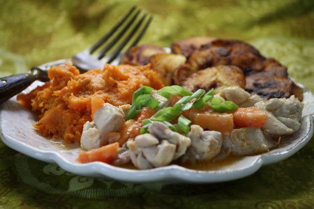 Solomon Islands - Papaya Chicken and Coconut Milk
