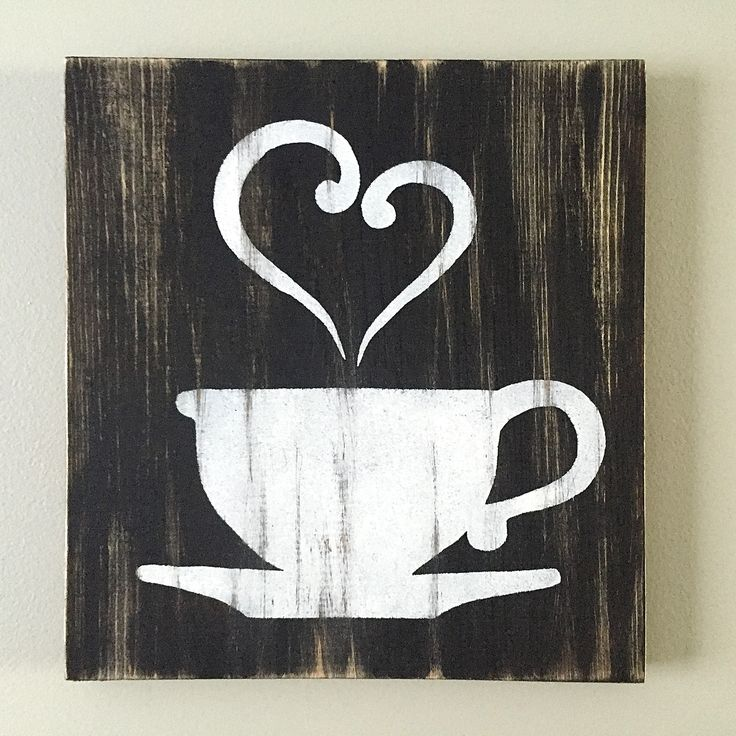 Kitchen Decor - Coffee Decor - Tea Decor - Coffee Cup - Tea Cup