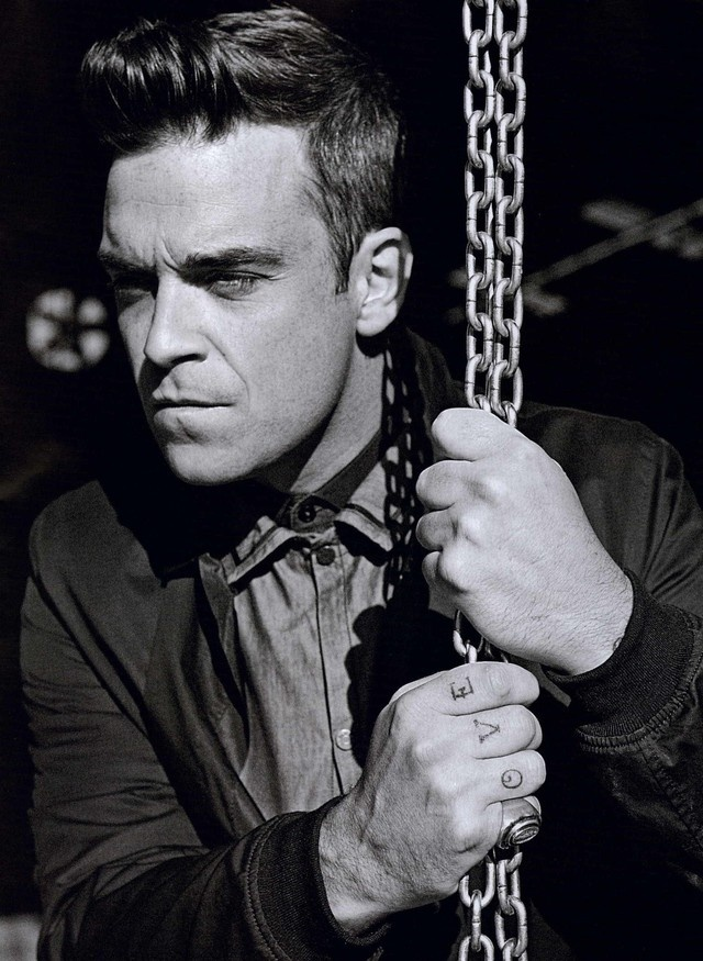 Robbie Williams in GQ