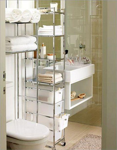 Handdoeken Opbergen Kleine Badkamer | New Home | Pinterest