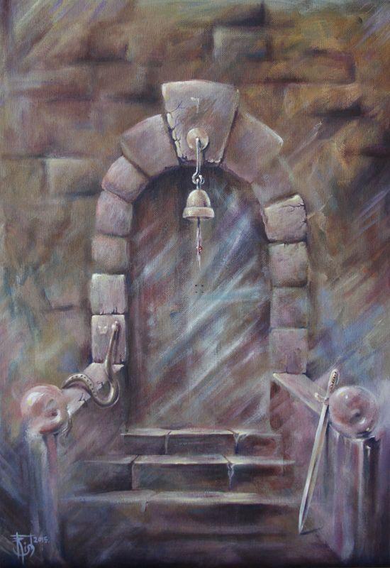 Картины МАГИЯ РУН. Trish: Двери, которых нет