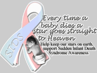 Support SIDS awareness! My heart is breaking thinking of what R and C must be going through right now. Love and light my friend!