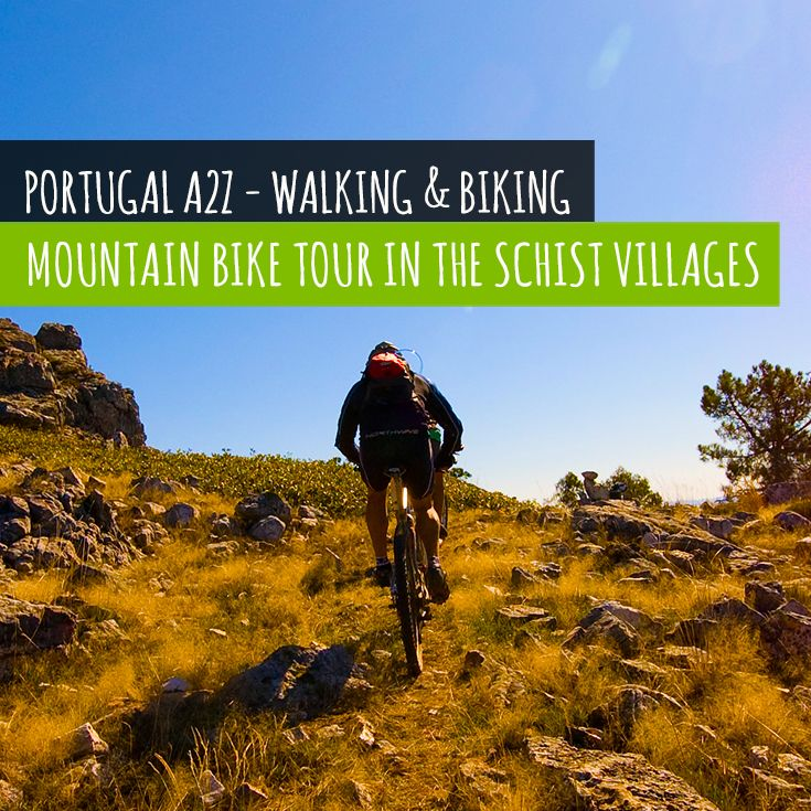 Cycle a trail that connects 27 Schist Villages of central Portugal and pass by beautiful river beaches.