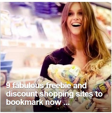 fabulous freebie discount shopping sites to bookmark now