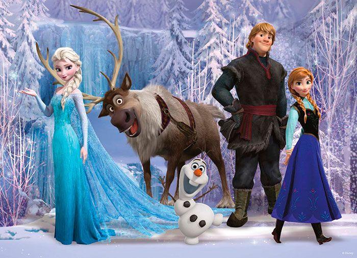 Walt Disney Coloring Pages Frozen : Best frozen el reino del hielo images disney