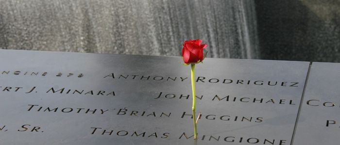 Rose 9/11 Memorial in NYC