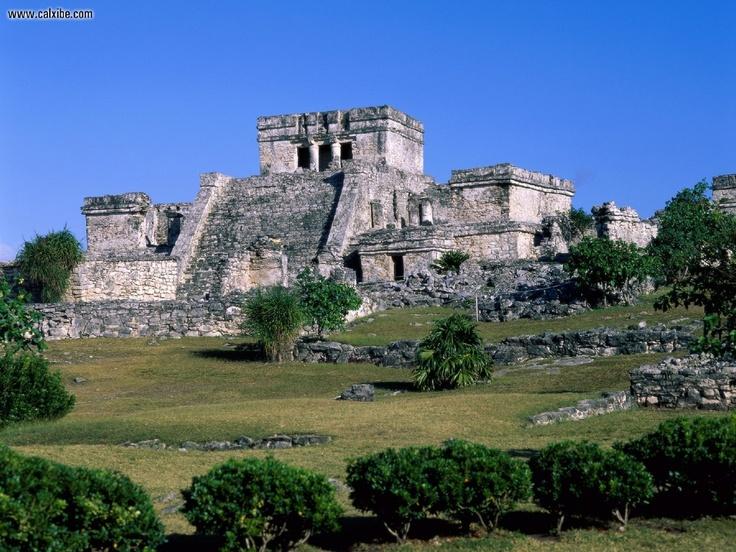 Tulum Castle, Mexico